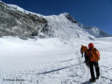 Salendo l'Island Peak, Nepal